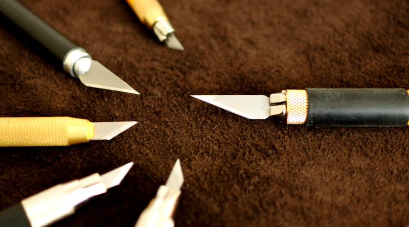 様々な種類があるデザインナイフ